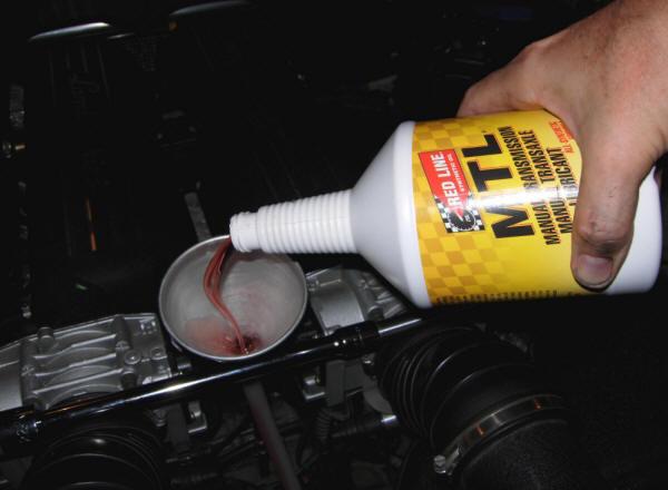 Gallardo Oil Filter Change